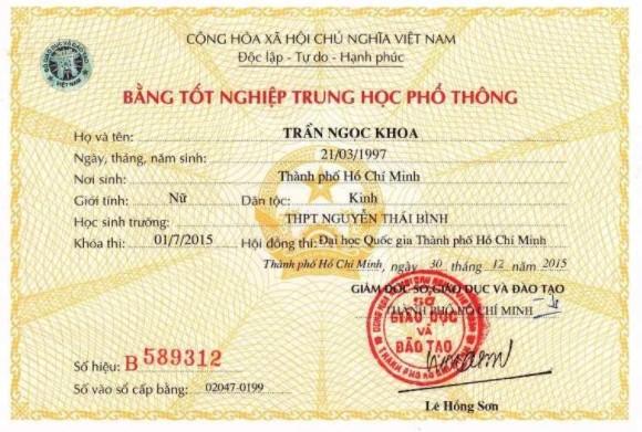 Dịch vụ làm bằng cấp 3 tại Hưng Yên giá rẻ, chất lượng đảm bảo